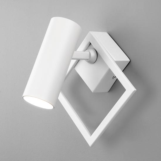 Фото №2 Настенный светодиодный светильник 20091/1 LED белый