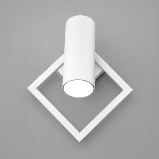 Фото №3 Настенный светодиодный светильник 20091/1 LED белый