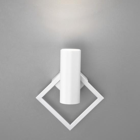 Фото №4 Настенный светодиодный светильник 20091/1 LED белый