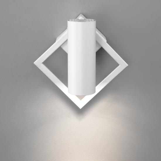 Фото №5 Настенный светодиодный светильник 20091/1 LED белый