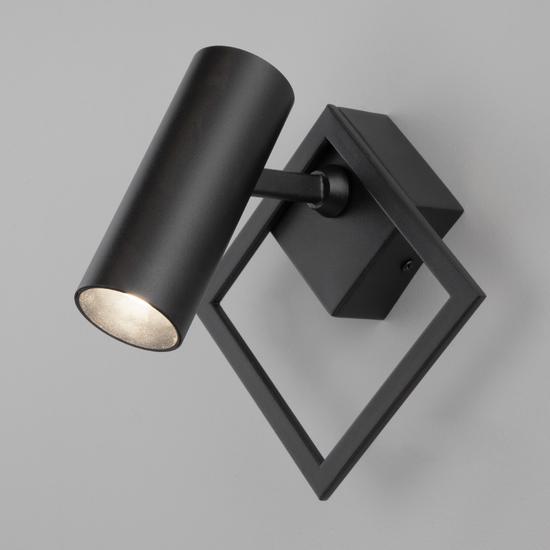 Фото №2 Настенный светодиодный светильник 20091/1 LED черный
