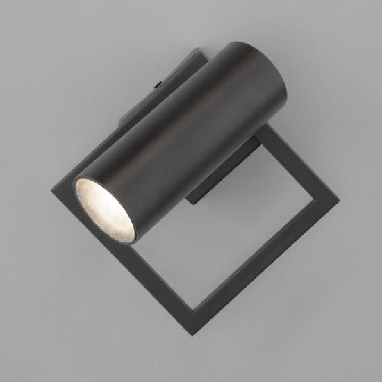 Фото №3 Настенный светодиодный светильник 20091/1 LED черный