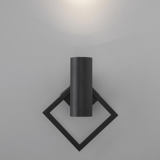 Фото №5 Настенный светодиодный светильник 20091/1 LED черный