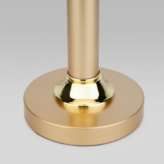 Фото №4 Настольная лампа с абажуром 60019/1 перламутровое золото