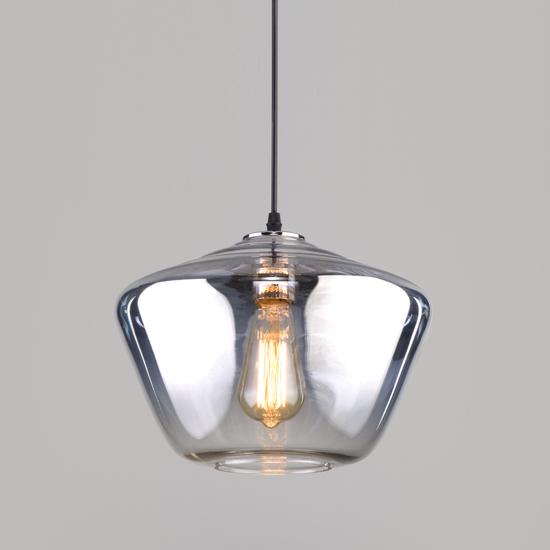 Фото №2 Подвесной светильник со стеклянным плафоном 50199/1 хром