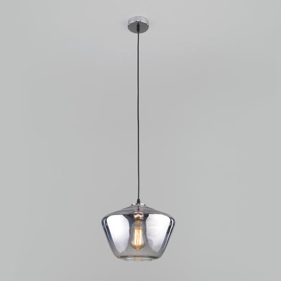 Фото №3 Подвесной светильник со стеклянным плафоном 50199/1 хром