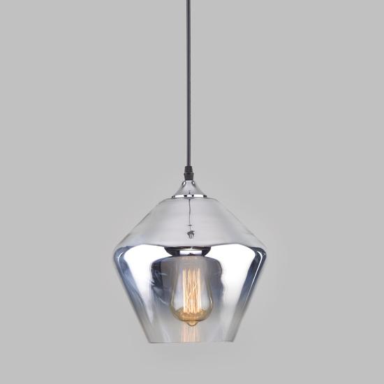 Фото №2 Подвесной светильник со стеклянным плафоном 50198/1 хром