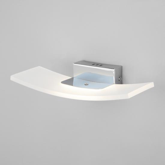 Фото №4 Настенный светодиодный светильник 40152/1 LED хром
