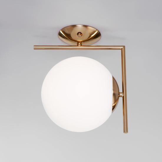 Фото №2 Настенно-потолочный светильник со стеклянным плафоном 70153/1