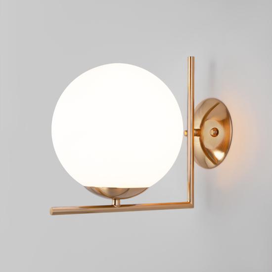 Фото №3 Настенно-потолочный светильник со стеклянным плафоном 70153/1