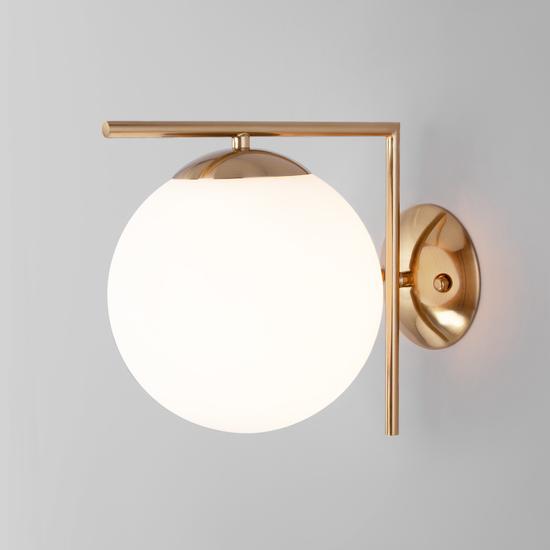 Фото №4 Настенно-потолочный светильник со стеклянным плафоном 70153/1