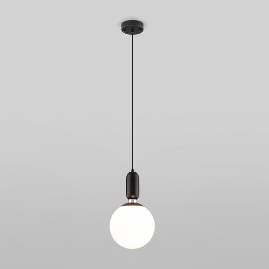 Фото №3 Подвесной светильник со стеклянным плафоном 50197/1 черный
