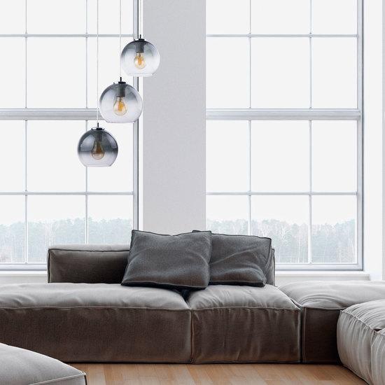 Фото №3 Подвесной светильник со стеклянным плафоном 2795 Santino