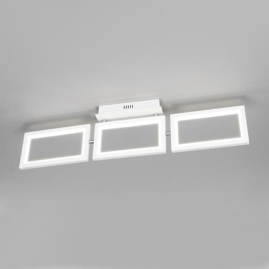Фото №2 Потолочный светодиодный светильник 90223/3 белый