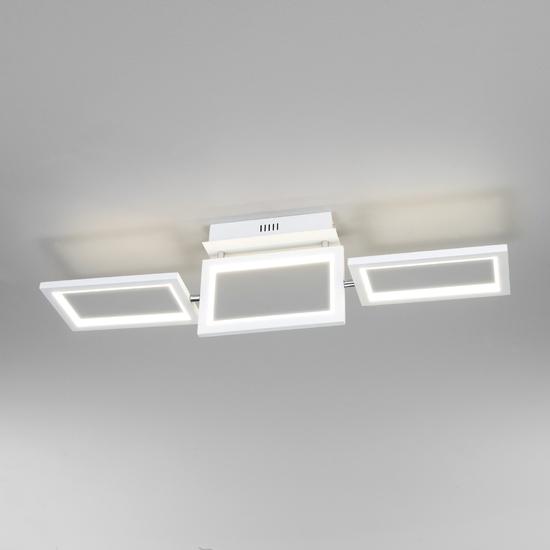 Фото №3 Потолочный светодиодный светильник 90223/3 белый