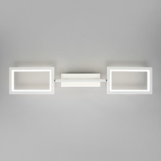 Фото №4 Потолочный светодиодный светильник 90223/3 белый