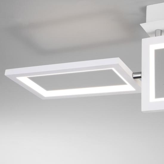 Фото №5 Потолочный светодиодный светильник 90223/3 белый