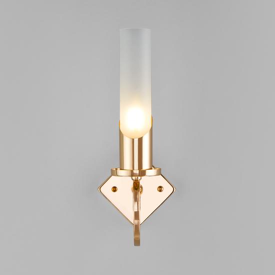 Фото №3 Классический настенный светильник 60117/1 золото