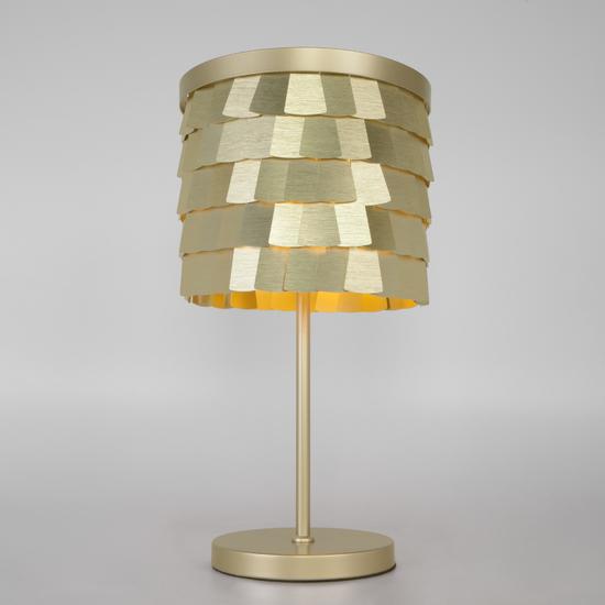 Фото №2 Настольная лампа с металлическим абажуром 01103/4