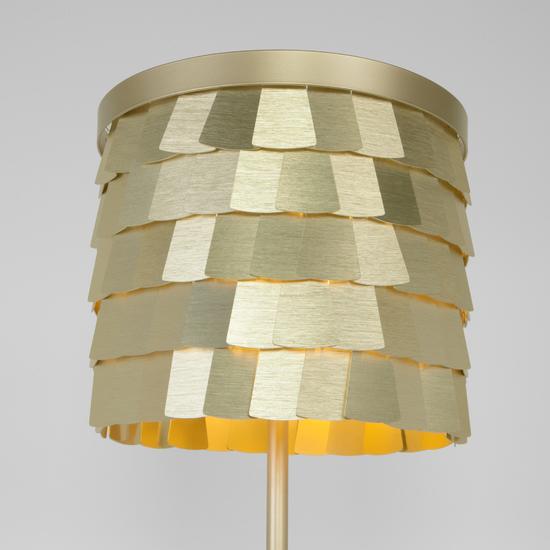 Фото №3 Настольная лампа с металлическим абажуром 01103/4