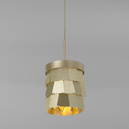 Фото №2 Подвесной светильник с металлическим абажуром 317/1