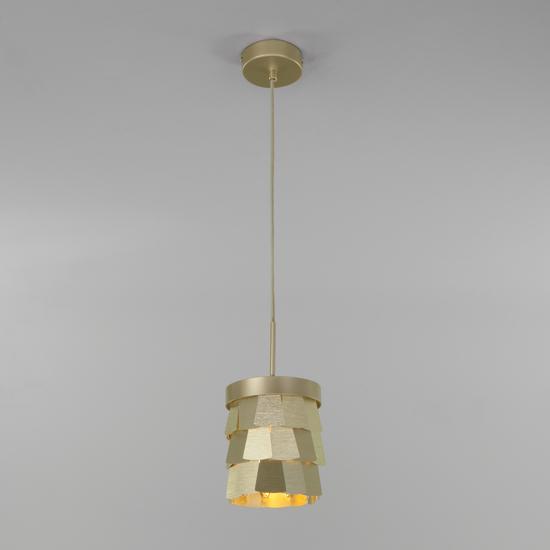 Фото №3 Подвесной светильник с металлическим абажуром 317/1