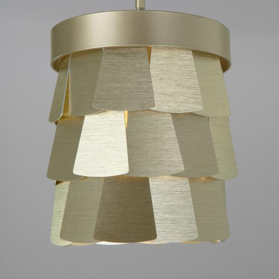 Фото №4 Подвесной светильник с металлическим абажуром 317/1