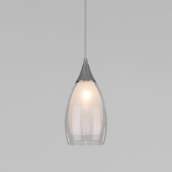 Фото №2 Подвесной светильник со стеклянным плафоном 50085/1 хром