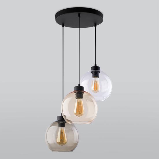 Фото №2 Подвесной светильник со стеклянными плафонами 2831 Cubus