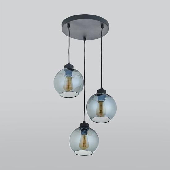 Фото №2 Подвесной светильник со стеклянными плафонами 2819 Cubus Graphite