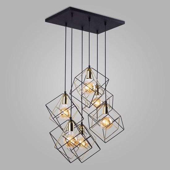 Фото №2 Подвесной светильник в стиле лофт 191 Alambre