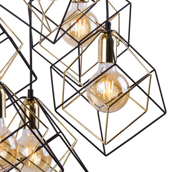 Фото №5 Подвесной светильник в стиле лофт 191 Alambre