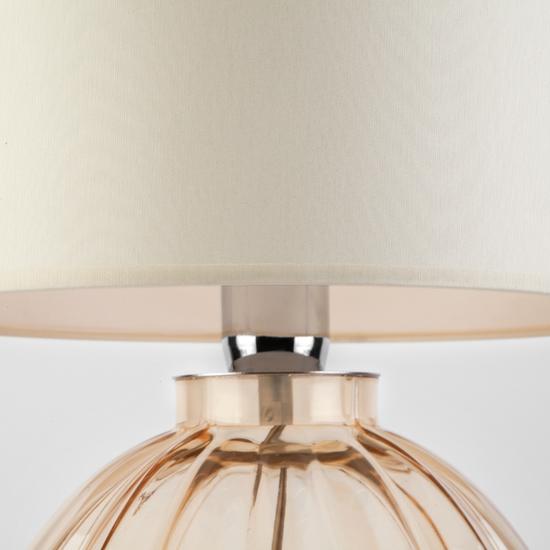 Фото №3 Настольный светильник с абажуром 1151 Buduar Ecru