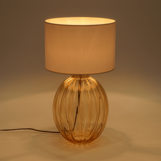 Фото №4 Настольный светильник с абажуром 1151 Buduar Ecru
