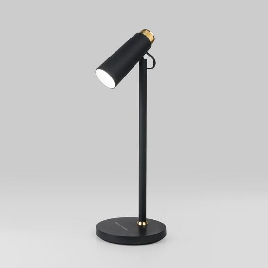 Фото №2 Светодиодный настольный светильник Joel черный/золото (TL70190)