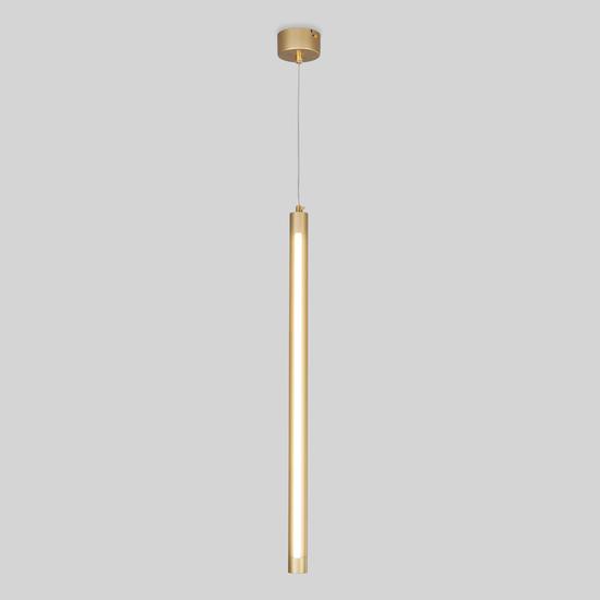 Фото №2 Подвесной светодиодный светильник 50189/1 LED матовое золото