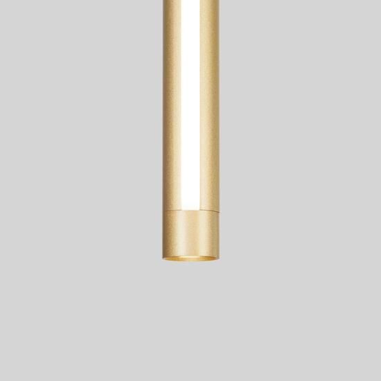 Фото №3 Подвесной светодиодный светильник 50189/1 LED матовое золото