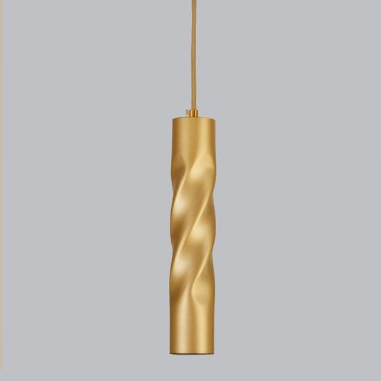 Фото №2 Подвесной светодиодный светильник 50136/1 LED золото