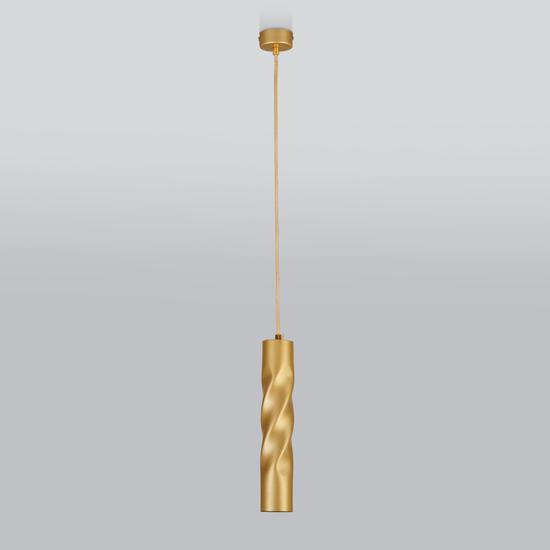Фото №3 Подвесной светодиодный светильник 50136/1 LED золото