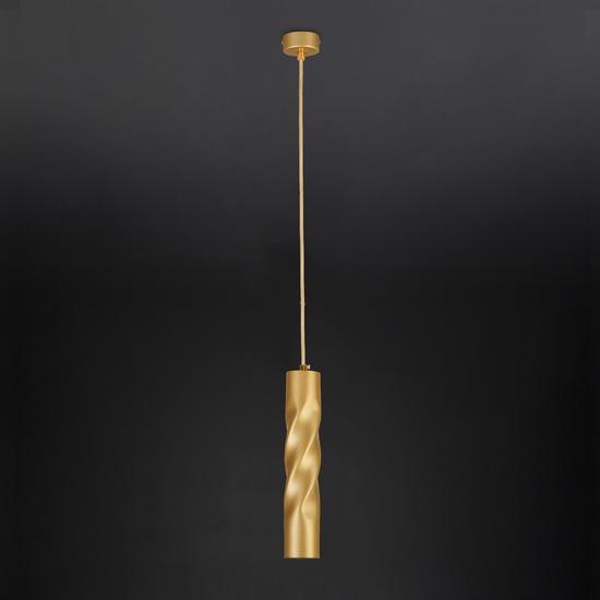 Фото №4 Подвесной светодиодный светильник 50136/1 LED золото