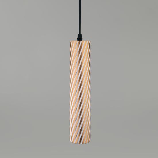 Фото №2 Подвесной светодиодный светильник 50190/1 LED золото