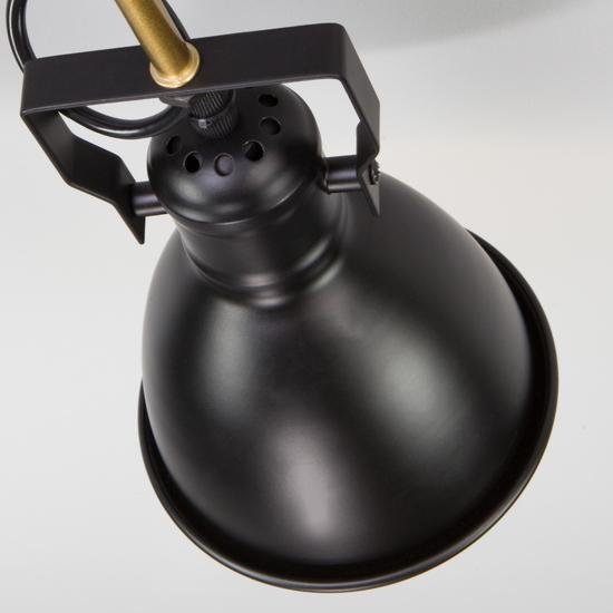 Фото №5 Потолочная люстра с поворотными рожками 70112/8 черный