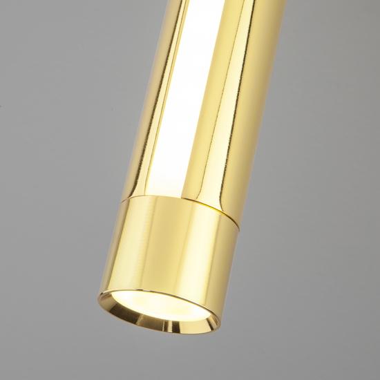Фото №4 Настенно-потолочный светодиодный светильник 20084/1 LED черный/золото
