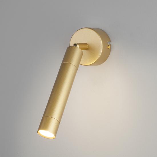 Фото №3 Настенно-потолочный светодиодный светильник 20084/1 LED матовое золото
