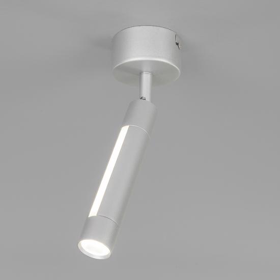 Фото №2 Настенно-потолочный светодиодный светильник 20084/1 LED серебро