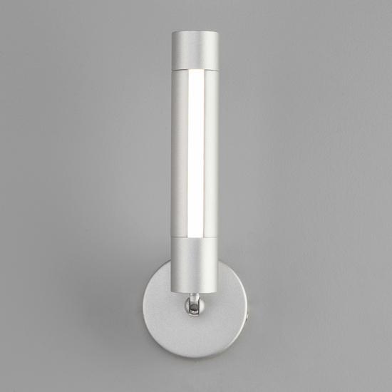 Фото №5 Настенно-потолочный светодиодный светильник 20084/1 LED серебро