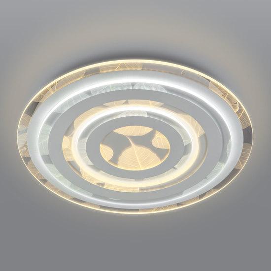 Фото №2 Потолочный светодиодный светильник с пультом управления 90220/1 белый