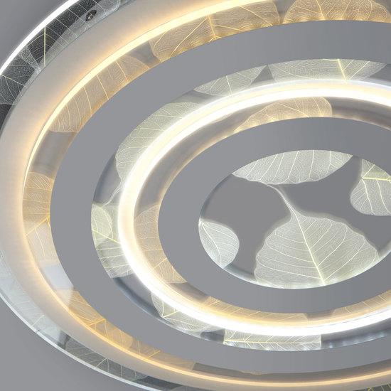 Фото №3 Потолочный светодиодный светильник с пультом управления 90220/1 белый