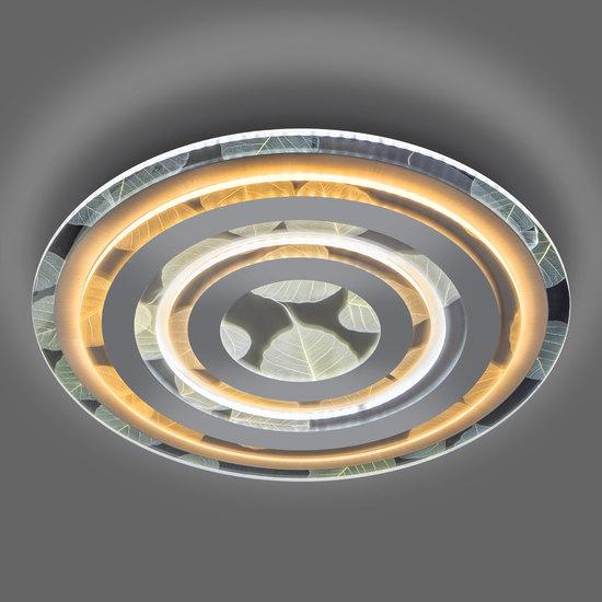 Фото №4 Потолочный светодиодный светильник с пультом управления 90220/1 белый