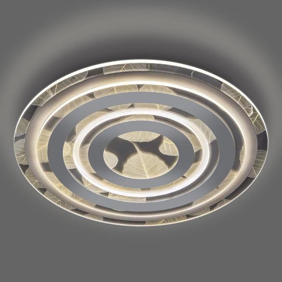 Фото №5 Потолочный светодиодный светильник с пультом управления 90220/1 белый